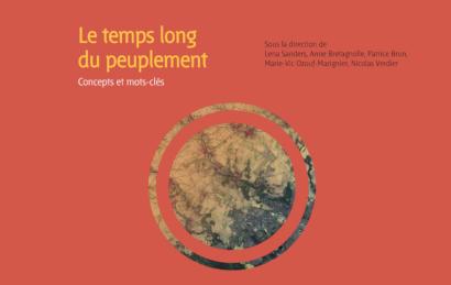 Livre « Le temps long du peuplement. Concepts et mots-clés »