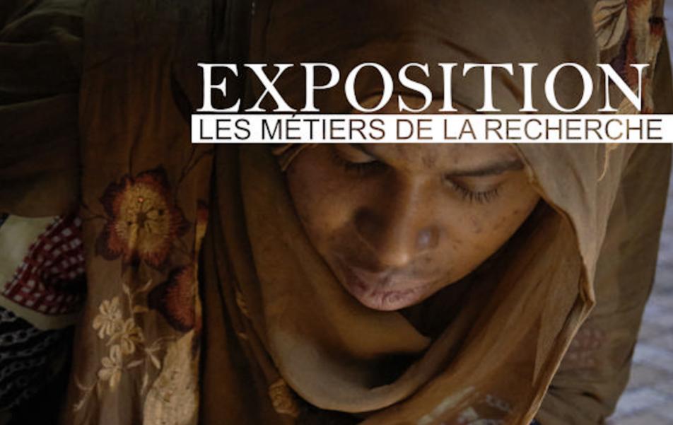 Affiche de l'exposition Métiers de la recherche